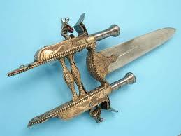 Katar, 7 senjata, Zhua, Flying Fire, Chu Ko Nu, Chakram, Scissor, Macuahuitl, senjata mematikan