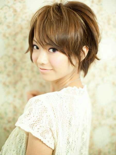 Korean Girls Short Hair Style Latest Photos 2014 World Latest