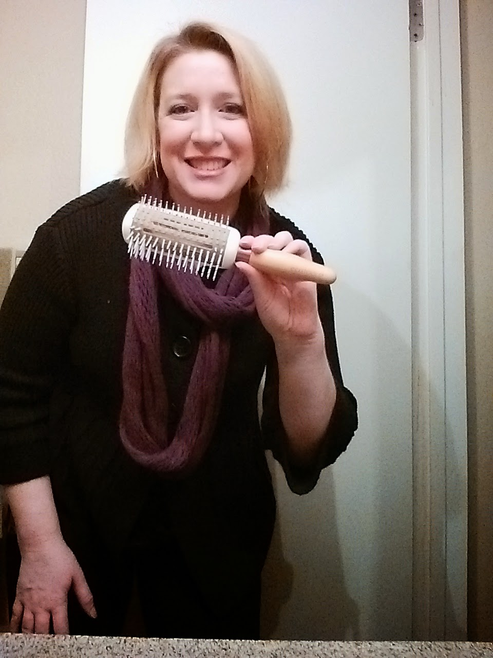 EcoTools Hair Brush #LoveMyEcoBrush