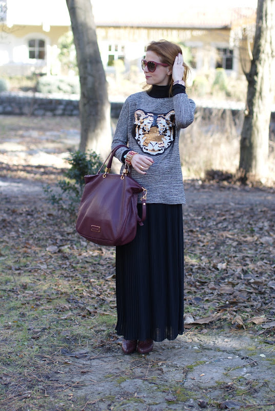 tiger head sweater, Fashion and Cookies