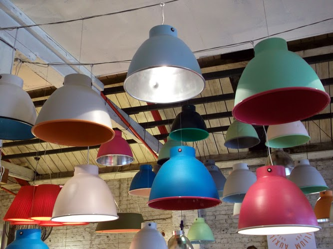 Auxilium Salvage 'Candy Collection' lamps