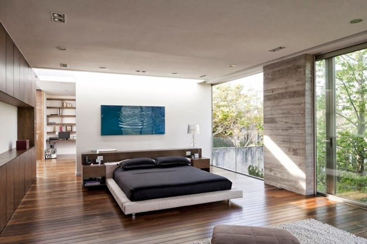 Bedroom in Modern dream home by Paz Arquitectura