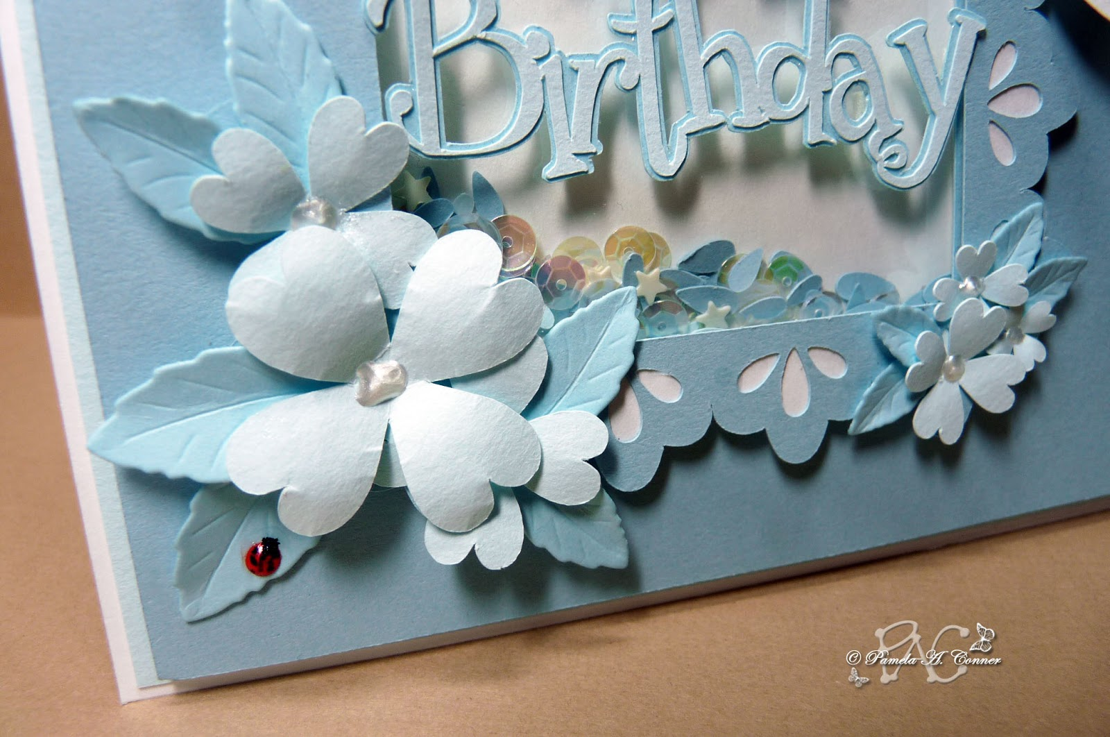 Yorkiemoms creative corner birthday card for 12 year old girl for the inside of the card i designed a border to match the frame and printed it on white cardstock and designed the text portion using the girls are bookmarktalkfo Images