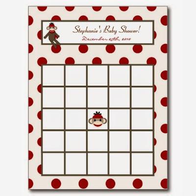 Valentine's Day Blank Bingo Card 4