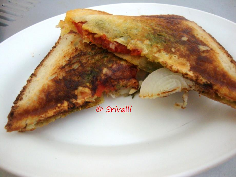 Spice your Life: Bombay Grilled Sandwich | Bombay Sandwich | Step By ...