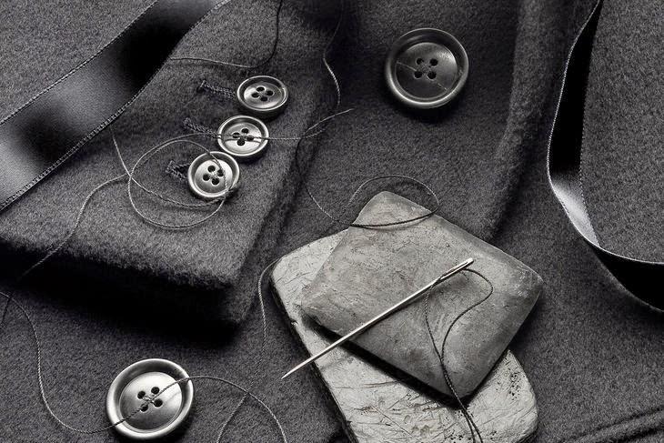 managa chaqueta con botones