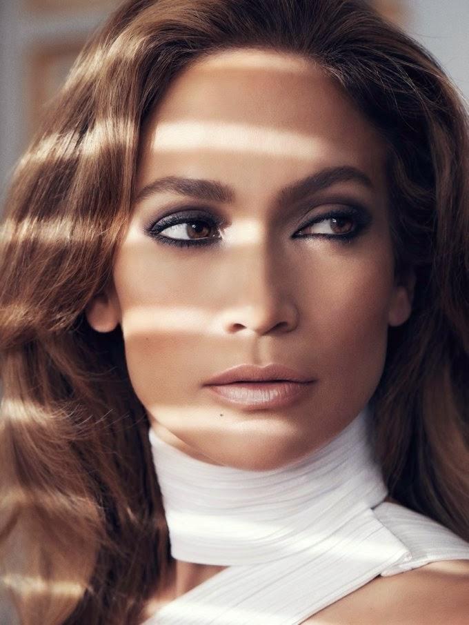 Jennifer Lopez Photoshoot for ELLE Magazine (UK) October 2014