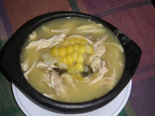 Comidas por el mundo Ajiaco-santafereno