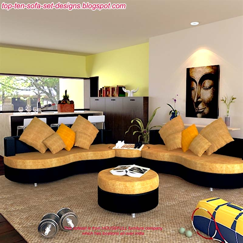 popular living room furniture design models. This Sofaset Is Also From Housefull Furniture Company India Popular Living Room Design Models M