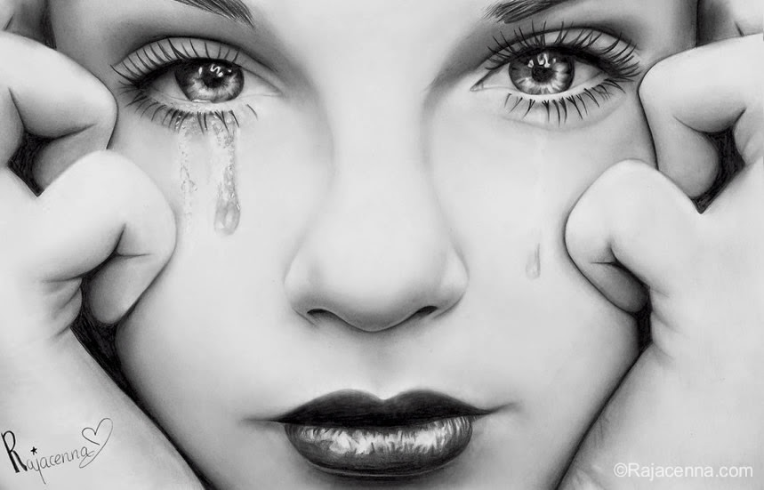 13-My-Last-Tears-Rajacenna-Photo-Realistic-drawings-from-a-novice-Artist-www-designstack-co