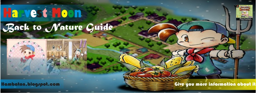 Harvest Moon: Back to Nature Guide