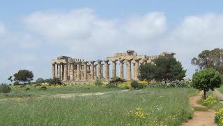 Südseite des Tempels E von Selinunt