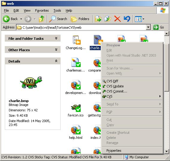 Cvs Screenshot