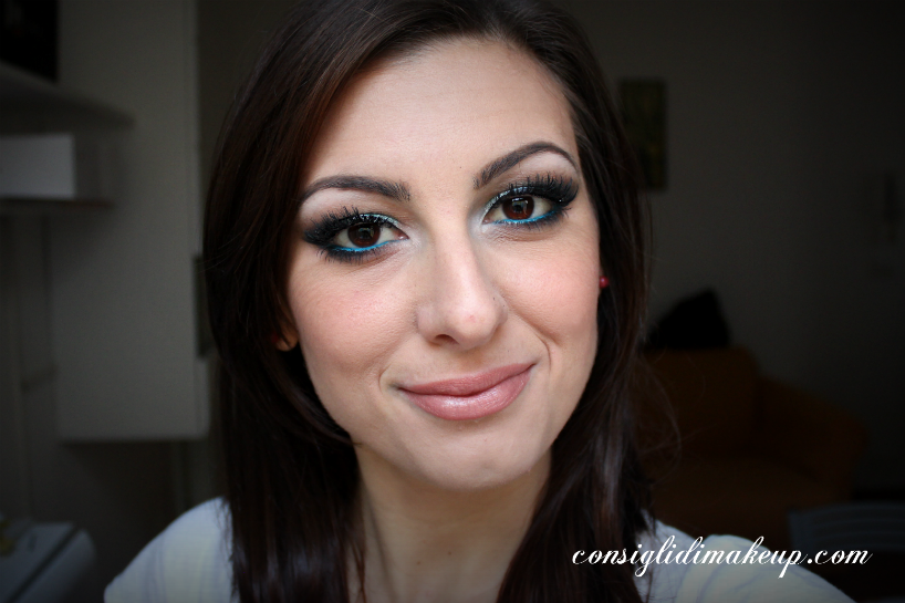 make up teal tutorial