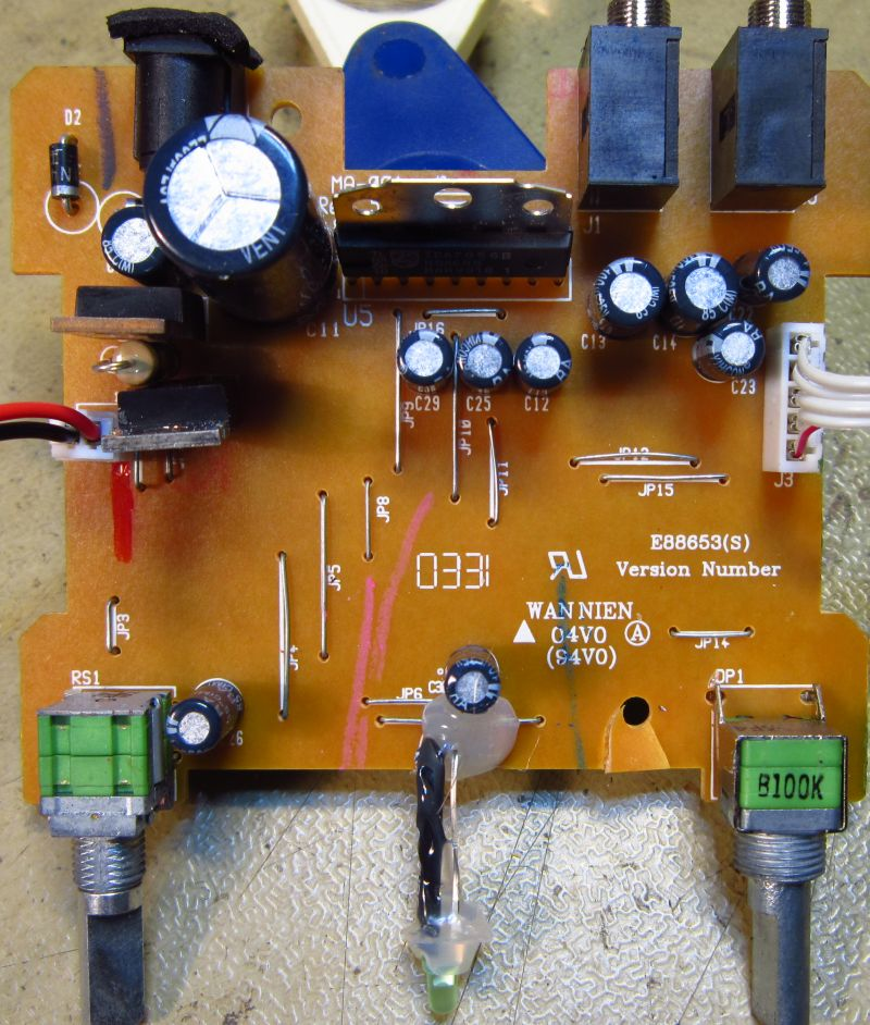 harry's radio's: tivoli pal, Wiring diagram