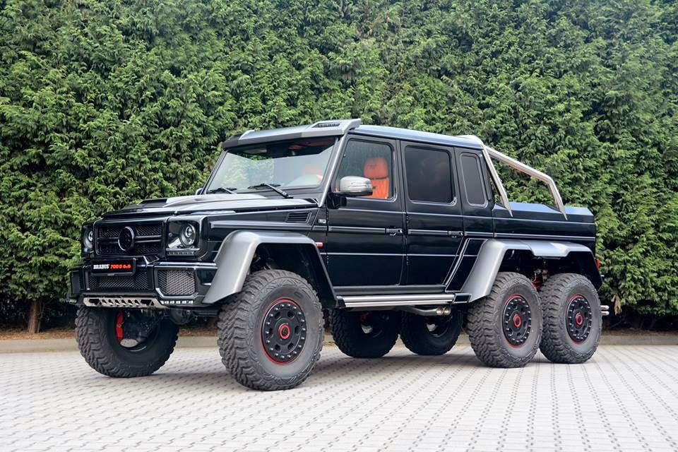 BRABUS 700 6x6 Based On MercedesBenz G63 AMG 6x6  LUX Garage
