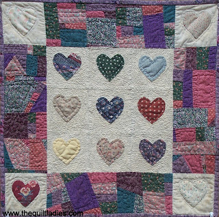little heart quilt