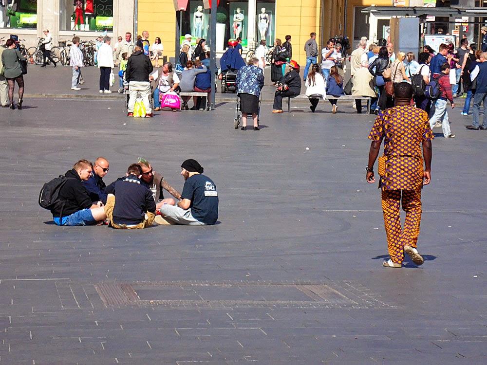 Multi-Kulti Markplatz, Halle