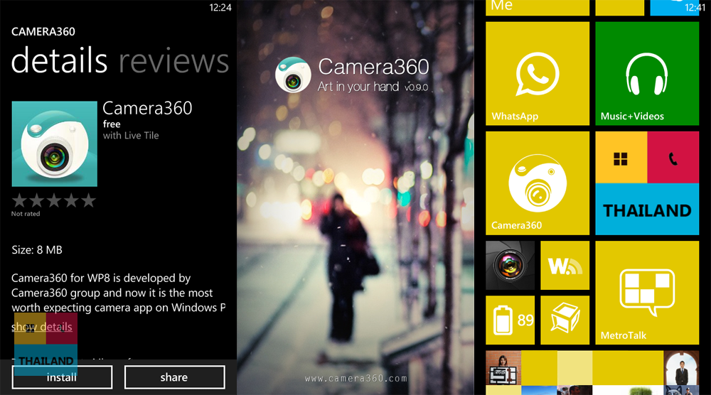 Camera360 For Windows Phone