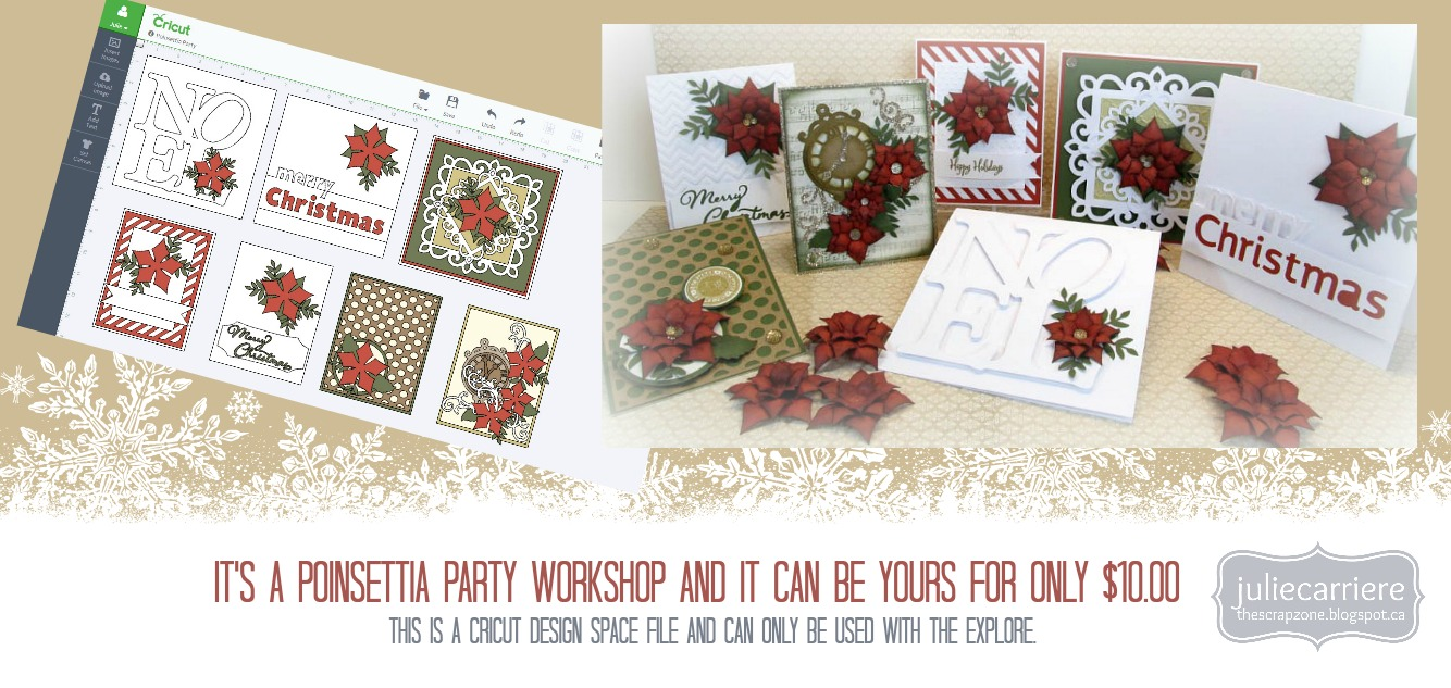 Poinsettia Party Cardmaking assembly guide EXPLORE only