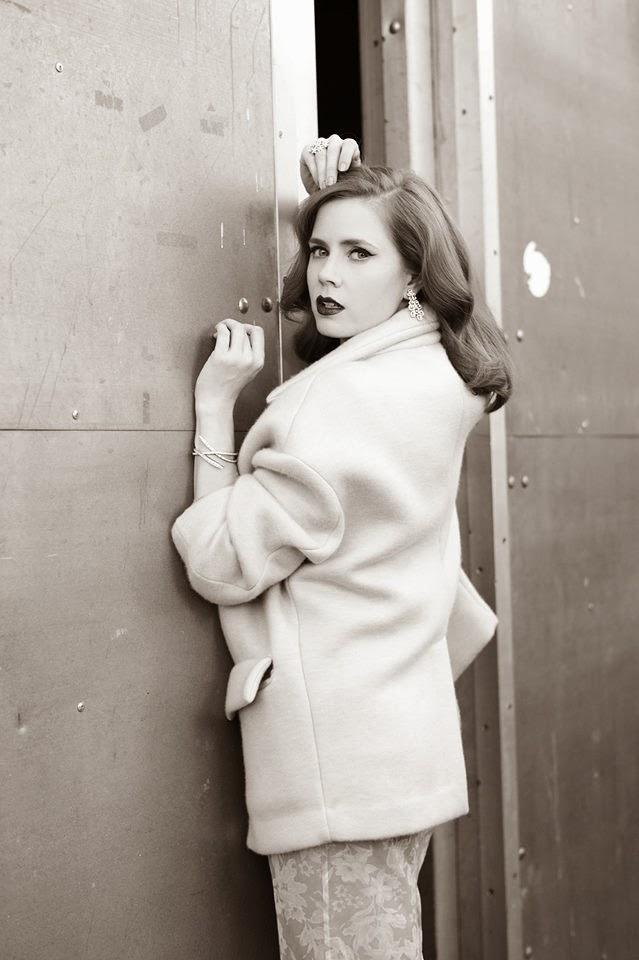 Magazine Photoshoot : Amy Adams Photoshot For L'Officiel Magazine Paris February 2014 Issue