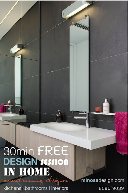 minosa minosa 30 min in home kitchen or bathroom design