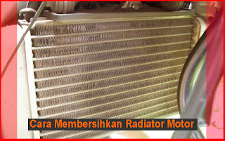 Cara Membersihkan Radiator Motor