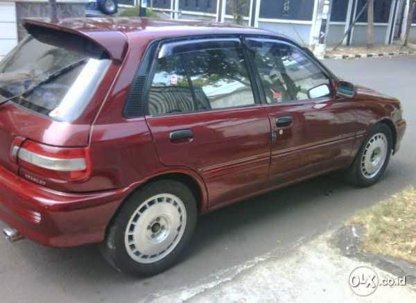Dijual Starlet Kapsul 1996 Murah Jakarta Lapak Mobil Dan Motor Bekas