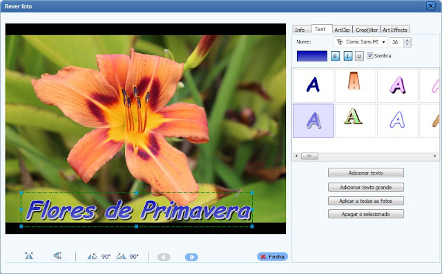 Photo Flash Maker - interface 3