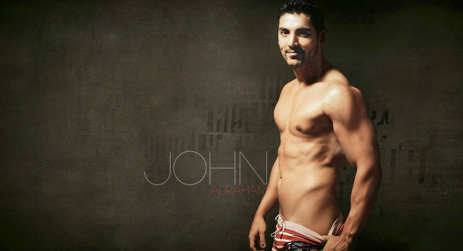 John Abraham Hot Body Latest HD Wallpapers 2014