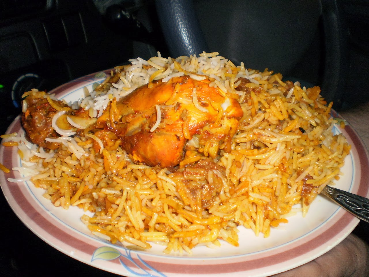 Authentic hyderabadi chicken biryani delicious healthy home made here is very delicious and simplified version of hyderabadi chicken biryani forumfinder Image collections