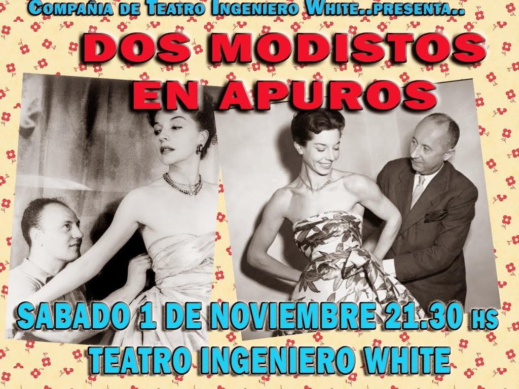 """ Dos Modistos en Apuros"" ültima función 2014"