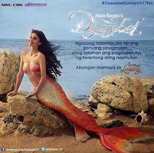 Anne Curits in a seemingly topless photo as Dyesebel