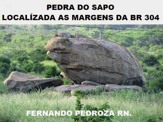 PEDRA DO SAPO FERNANDO PEDROZA RN