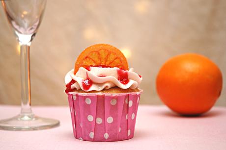 Starting to Simmer: Blood Orange Mimosa Cupcakes