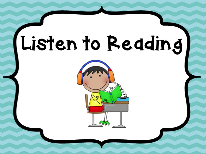 daily 5 rotation bookmarks literacy spark listening center clip art Writing Center Clip Art