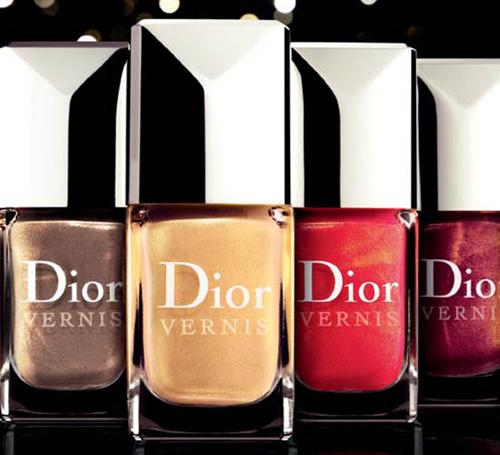 Лак за нокти със златен прах Dior Vernis