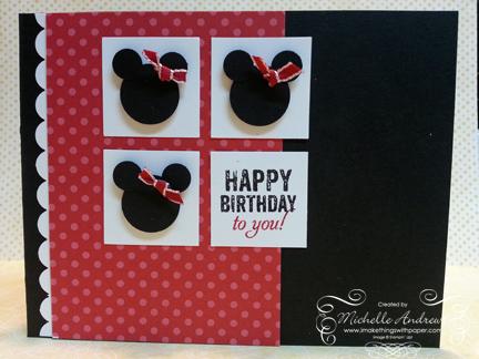 Stamp Pray Love A Simple Disney Birthday Card