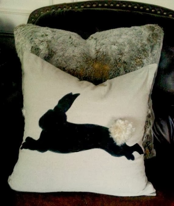 Chantilly Charm shared her Diy Bunny Pillow Featured at One More Time Events.com #bunnypillow