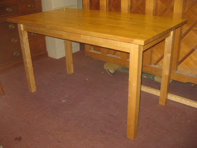 Uhuru Furniture Collectibles Sold Butcher Block Kitchen Table 60