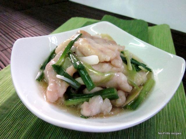 scallion pancakes garlic scallion noodles ginger and scallion fish ...