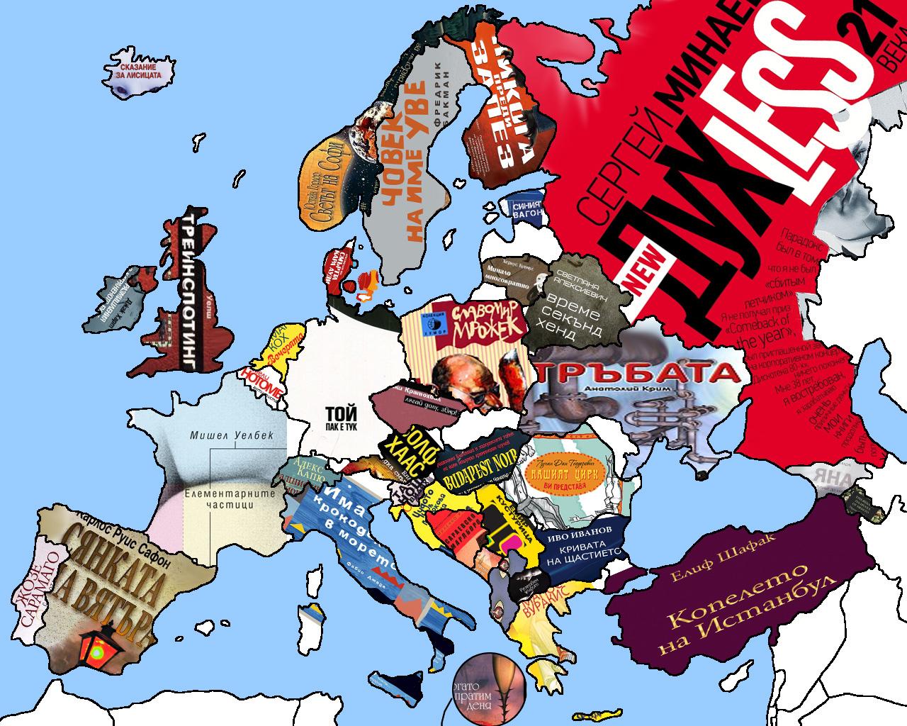 The Euro Book Trip