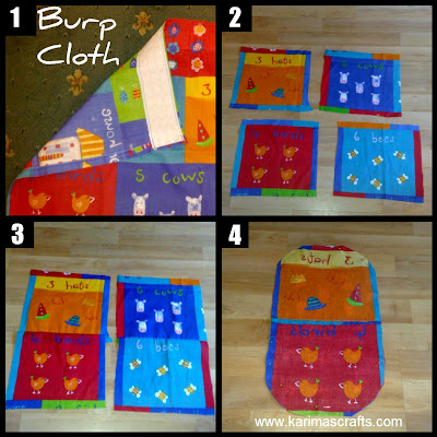 burp cloth boys girls muslim blog