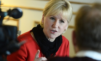 Chanceler sueca vira persona non grata em Israel