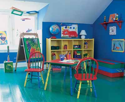 Ideas Playroom For Children -Toddlers