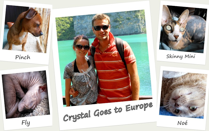 Crystal Goes to Europe