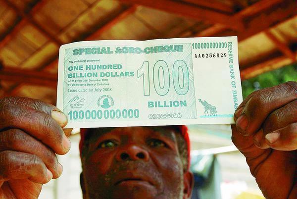 Inilah uang kertas dengan nilai nominal 100 milyar dolar