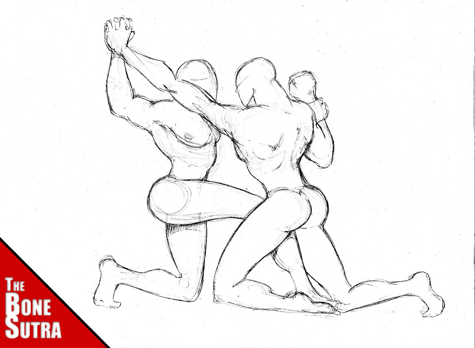 Erotic cartoon wrestling fucks scene