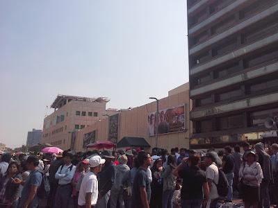 Magisterio y organizaciones de Edo de Méx se movilizan en la Ciudad de México