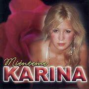 Discografia de Karina karina argentina mienteme frontal